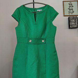 Kelly Green Work/Office Dress